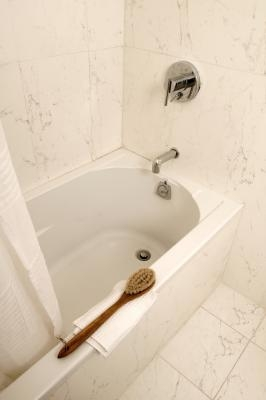 how to remove hard water stains from your bathtub ehow. Black Bedroom Furniture Sets. Home Design Ideas