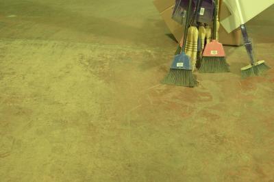 How To Sponge Paint A Concrete Floor Ehow