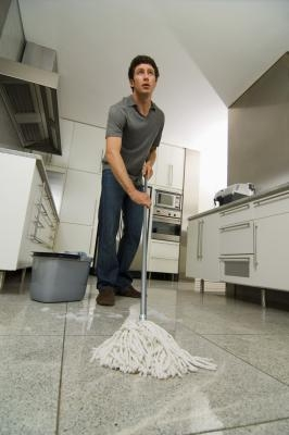 How to remove urine stains from terrazzo tile ehow for How to remove stains from terrazzo floors
