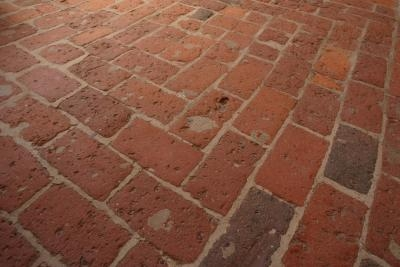 How to seal interior brick floors with wax ehow - Sealant for interior brick walls ...