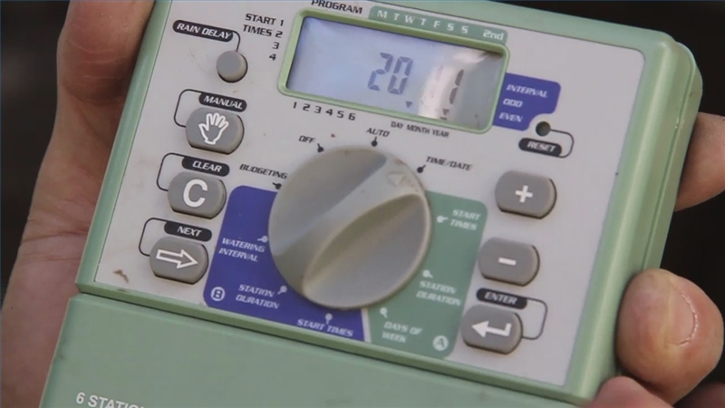 Gilmour Water Timer Instructions