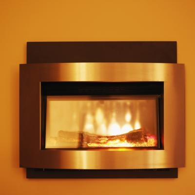 how to change a gas fireplace to electric ehow. Black Bedroom Furniture Sets. Home Design Ideas