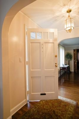 How To Adjust An Entry Door With Pictures Ehow