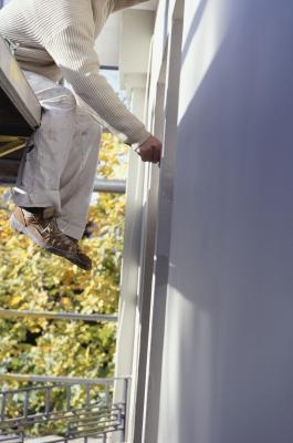 how to repaint aluminum window frames