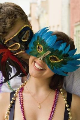 The best thing about Mardi Gras is the costumes and masks. It's like the hardcore Halloween that works to sweep away the Winter blues in a flurry on confetti and brass horns. of Mask Method #1: Custom Fit Paper Mache Mask. Paper Mache Mask.