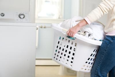 deodorize a washing machine