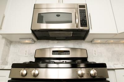 A Microwave Over The Stove Be