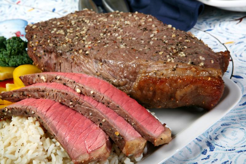 How to Broil Marinated Flank Steak... Also Known As London ...