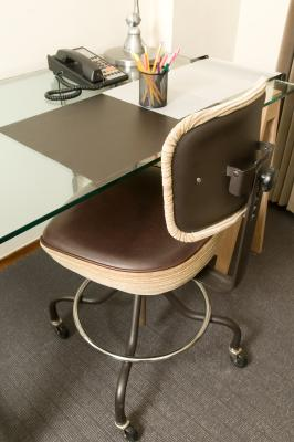 How To Make A Hard Surface Desk Mat For A Desk Chair On