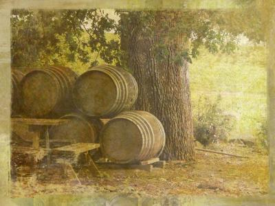 how to make an oak barrel in minecraft