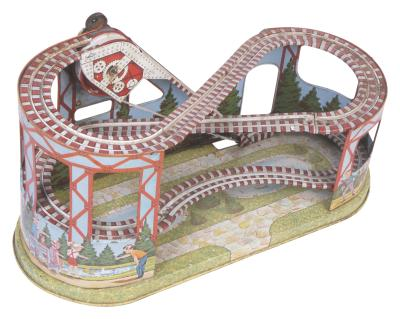 How to make a roller coaster model for kids synonym - Synonym basteln ...