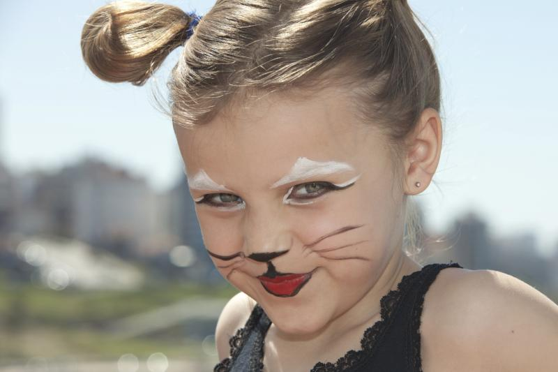 how to make a cat face for halloween