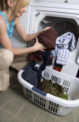 how to get rid of mildew smell in clothes dryer