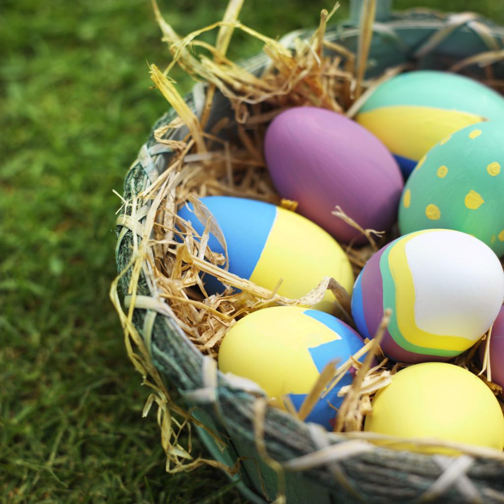 Unique Easter Egg Designs