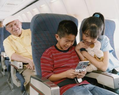 Domestic Air Travel With Grandchildren