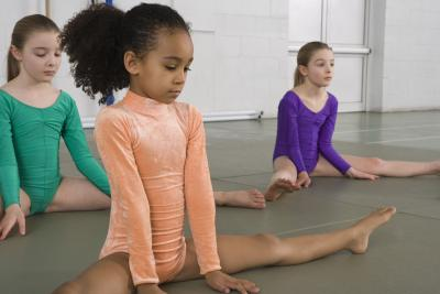 Gymnastics Games for Girls (with Pictures) | eHow