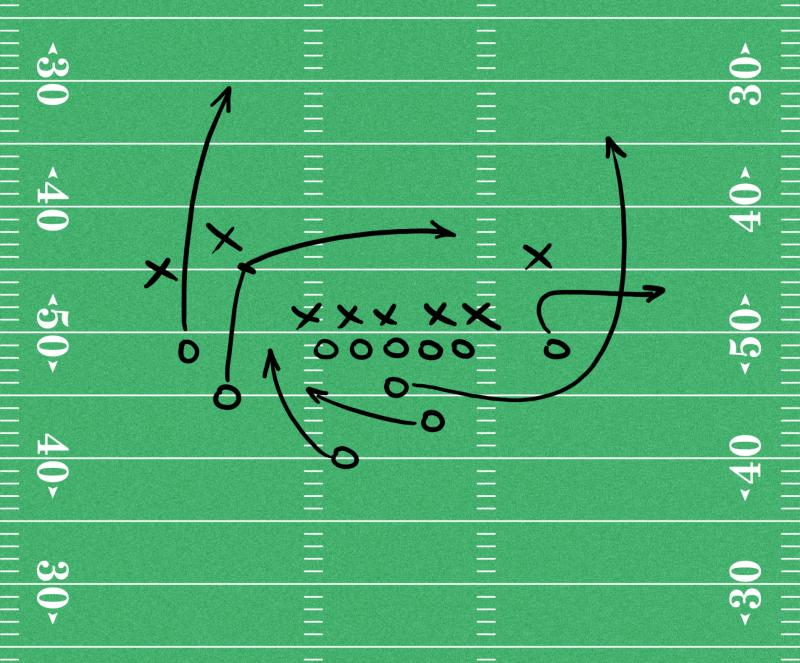 how to design a football playbook healthfully