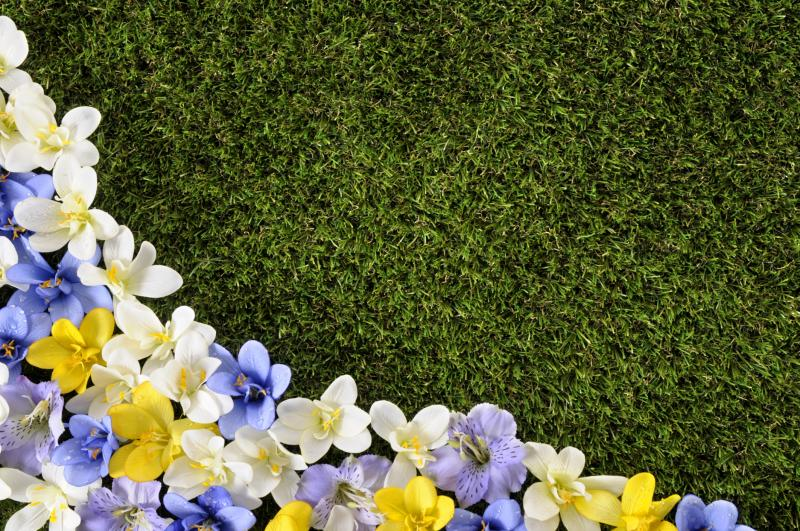 How to make a flower bed with flagstones ehow for Creating a flower bed