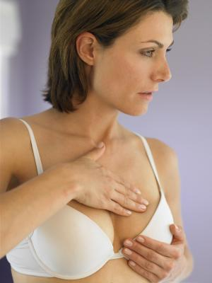 Sudden breast growth, a doctor