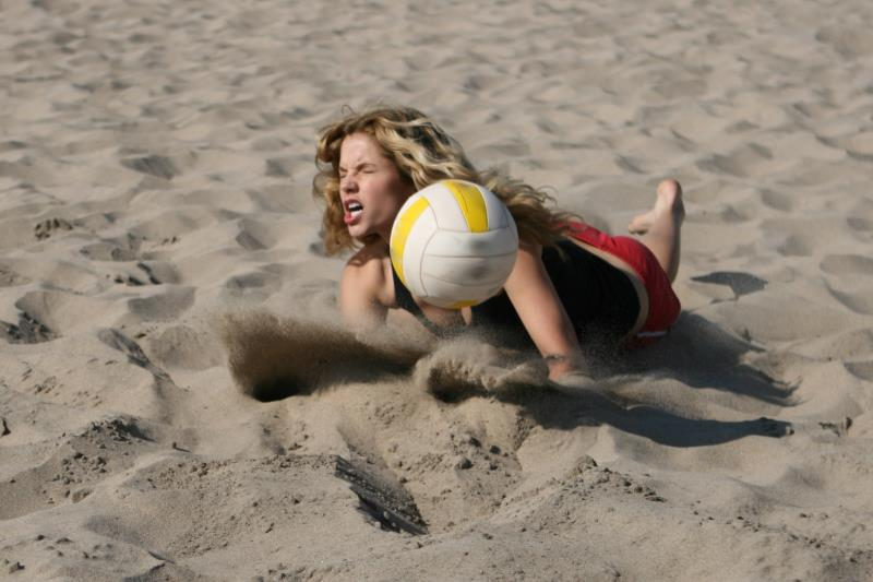 Volleyball Dig Technique   LIVESTRONG.COM