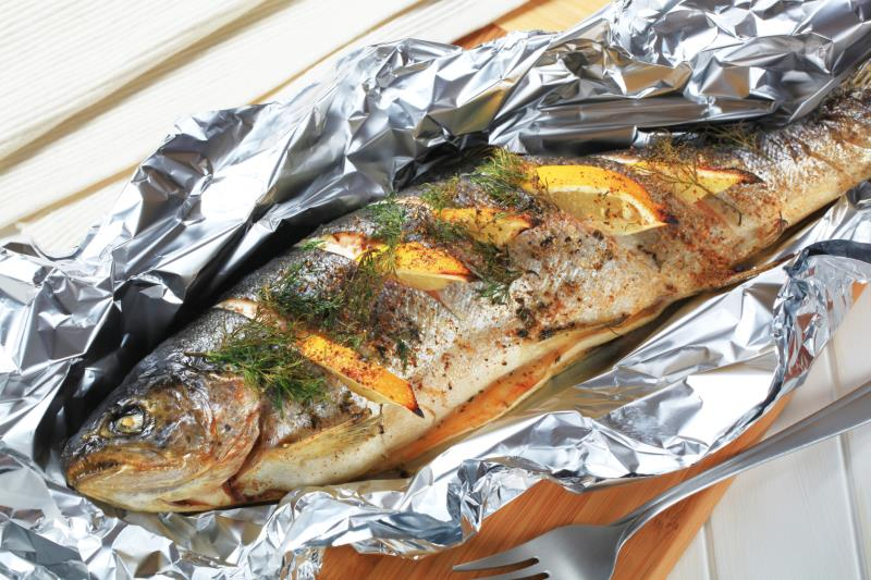 Grilled frozen fish recipes