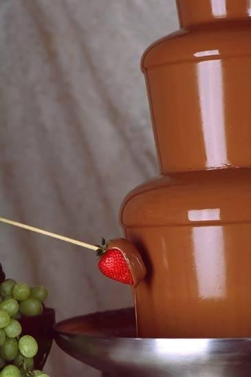 Qué Cosas Se Sumergen En Una Fuente De Chocolate