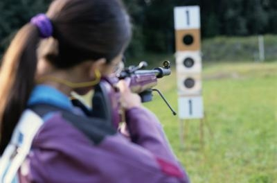How to Adjust the Rear Sight When a Gun Is Shooting Too High