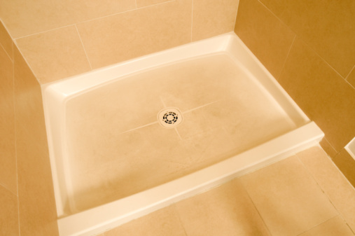 Scrubbing With Abrasives Actually Makes The Staining Worse On Shower Basin