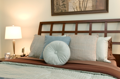 Attaching A Headboard Completes The Decor Of Bedroom