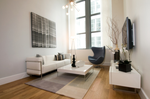 Area Rugs Add Warmth To A Room With Hardwood Floors
