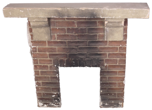 Outdated Brick Fireplaces Can Be Updated With Cement Board And Tile