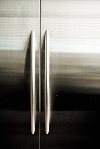 Remove A Deep Scratch From Stainless Steel Refrigerator With Sandpaper