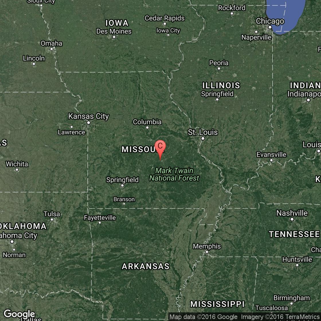 Branson Missouri Tourist Attractions USA Today - City map of branson mo