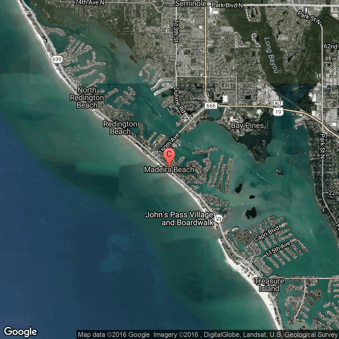 Campgrounds Near Madeira Beach Florida USA Today - Florida map madeira beach