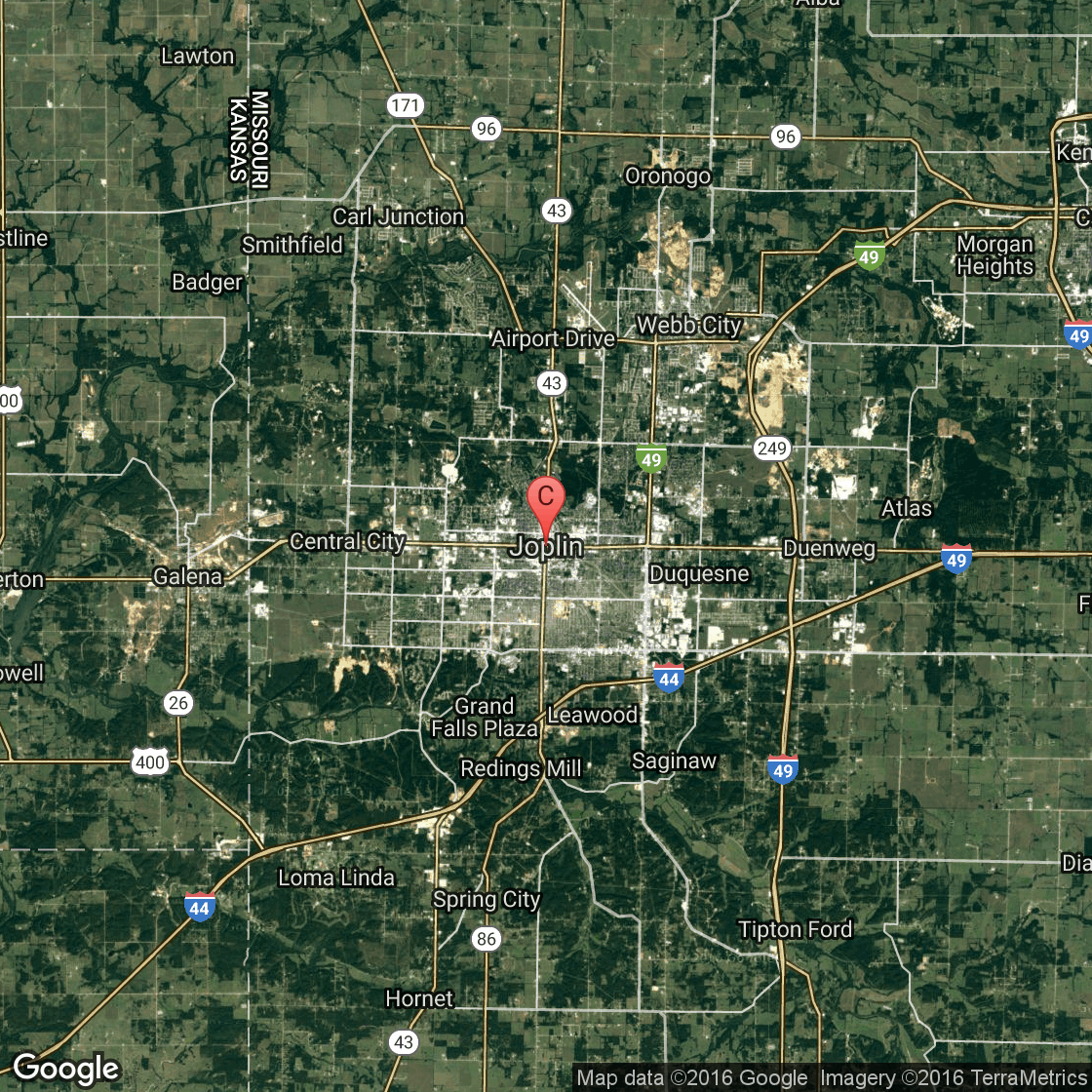 Casinos Near Joplin Missouri USA Today - Map of every casino in the us