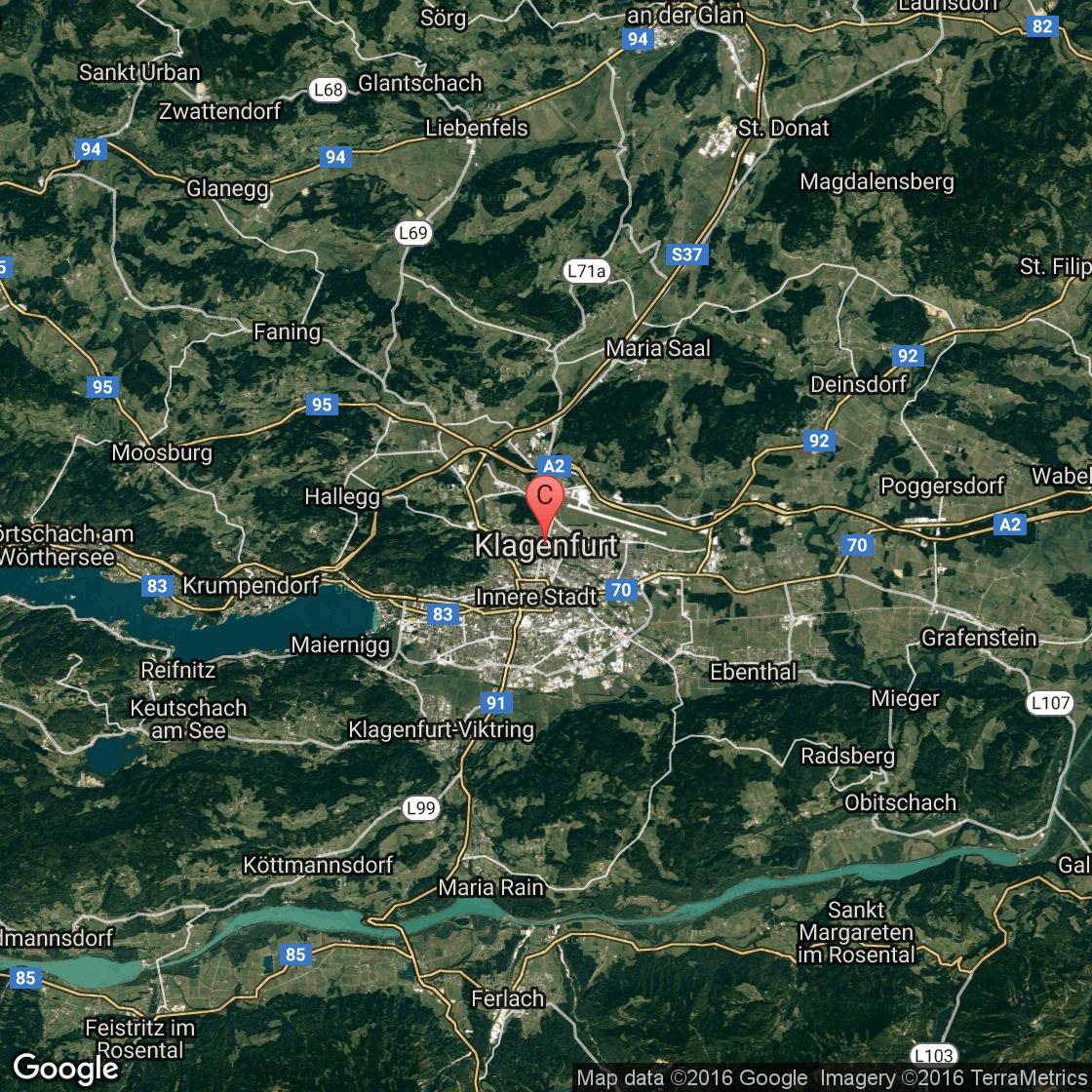 Castles Near Klagenfurt Austria USA Today - Klagenfurt austria map