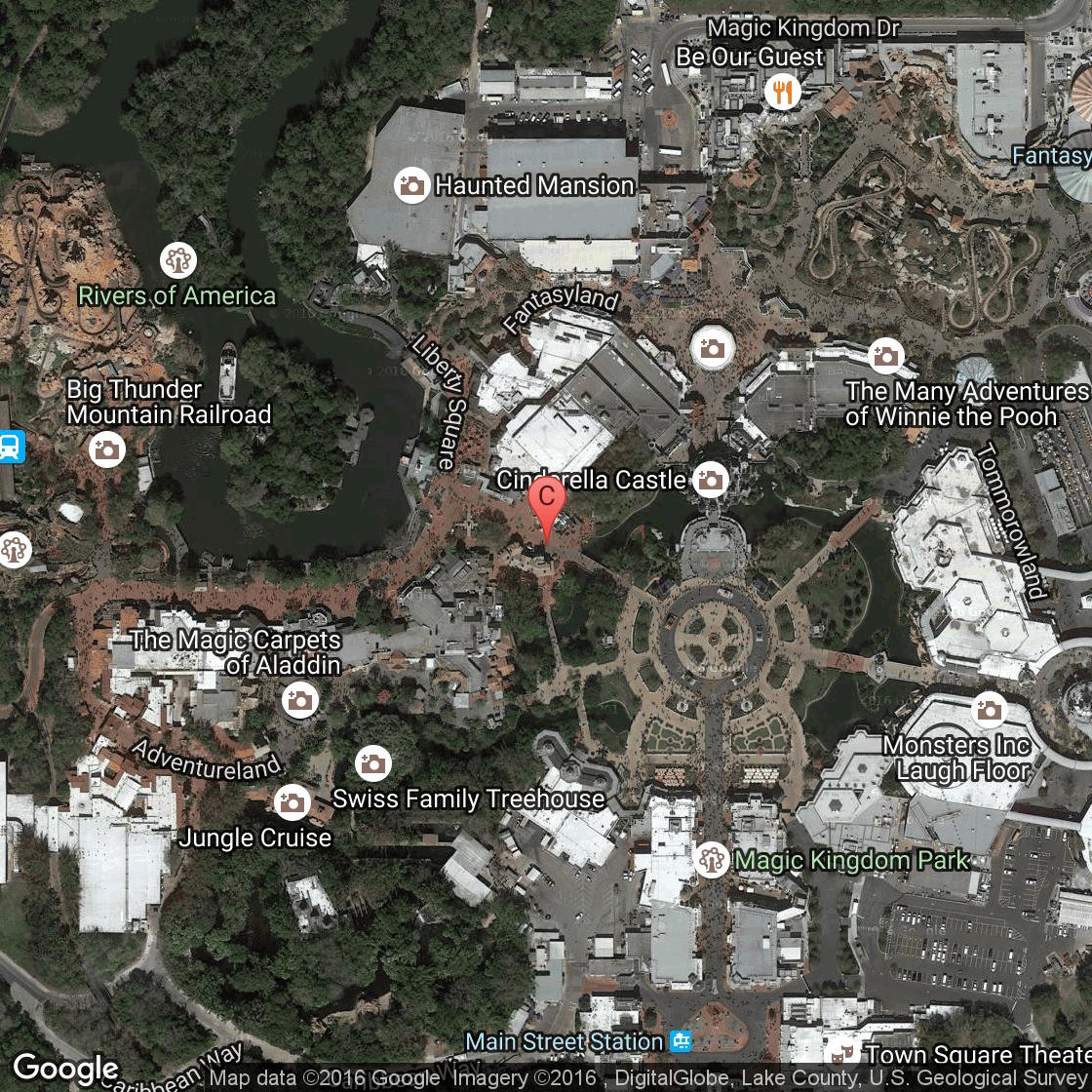 Comparison of Walt Disney World  Walt Disneyland  USA Today