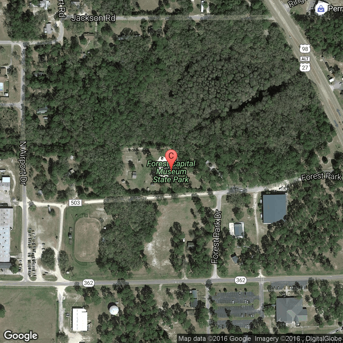 Forest Capital State Park In Florida USA Today - Florida map state parks