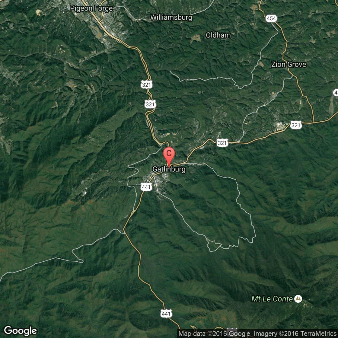 The Best Places to Stay to Watch the Ball Drop in Gatlinburg, TN Map Of Cities Near Gatlinburg Tn on