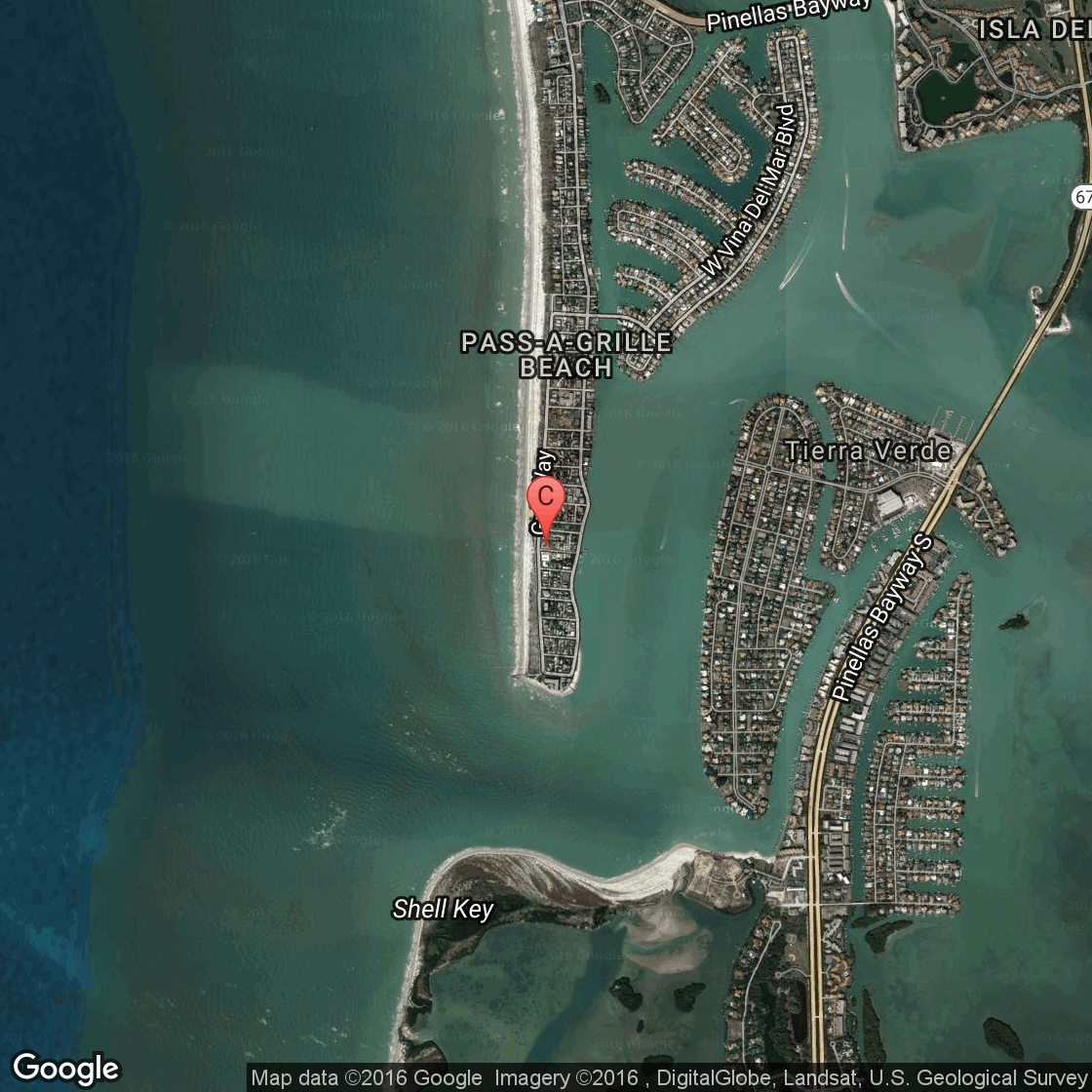 Hotels Or Inns In PassAGrille Florida USA Today - Map florida keys hotels