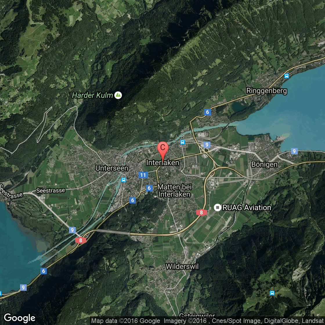 Hotels In Interlaken New York USA Today - Google map nyc hotels