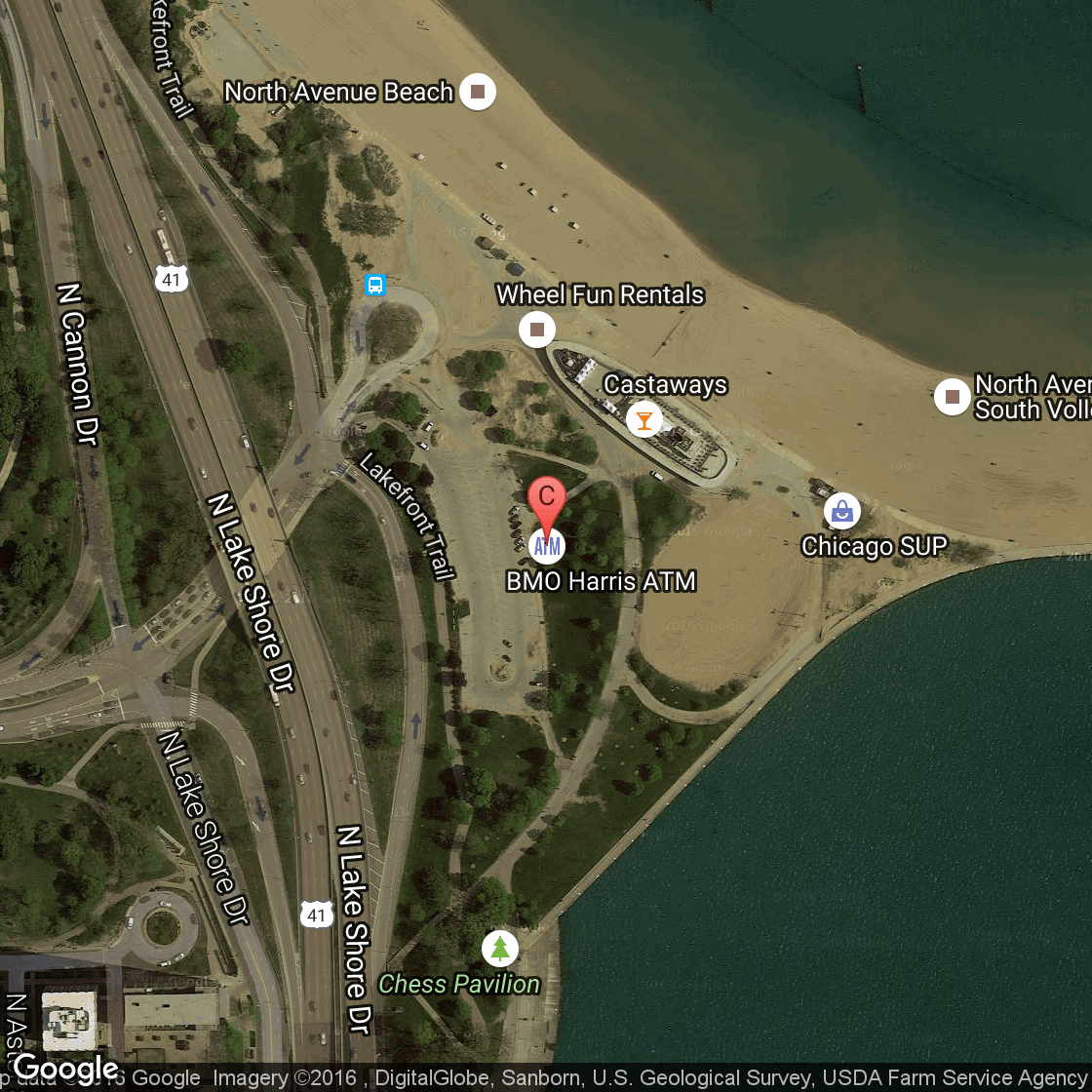 Hotels Near The Chicago Air  Water Show USA Today - Chicago map north avenue beach