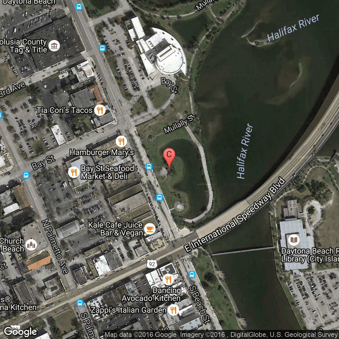 Daytona Beach Hilton Maps