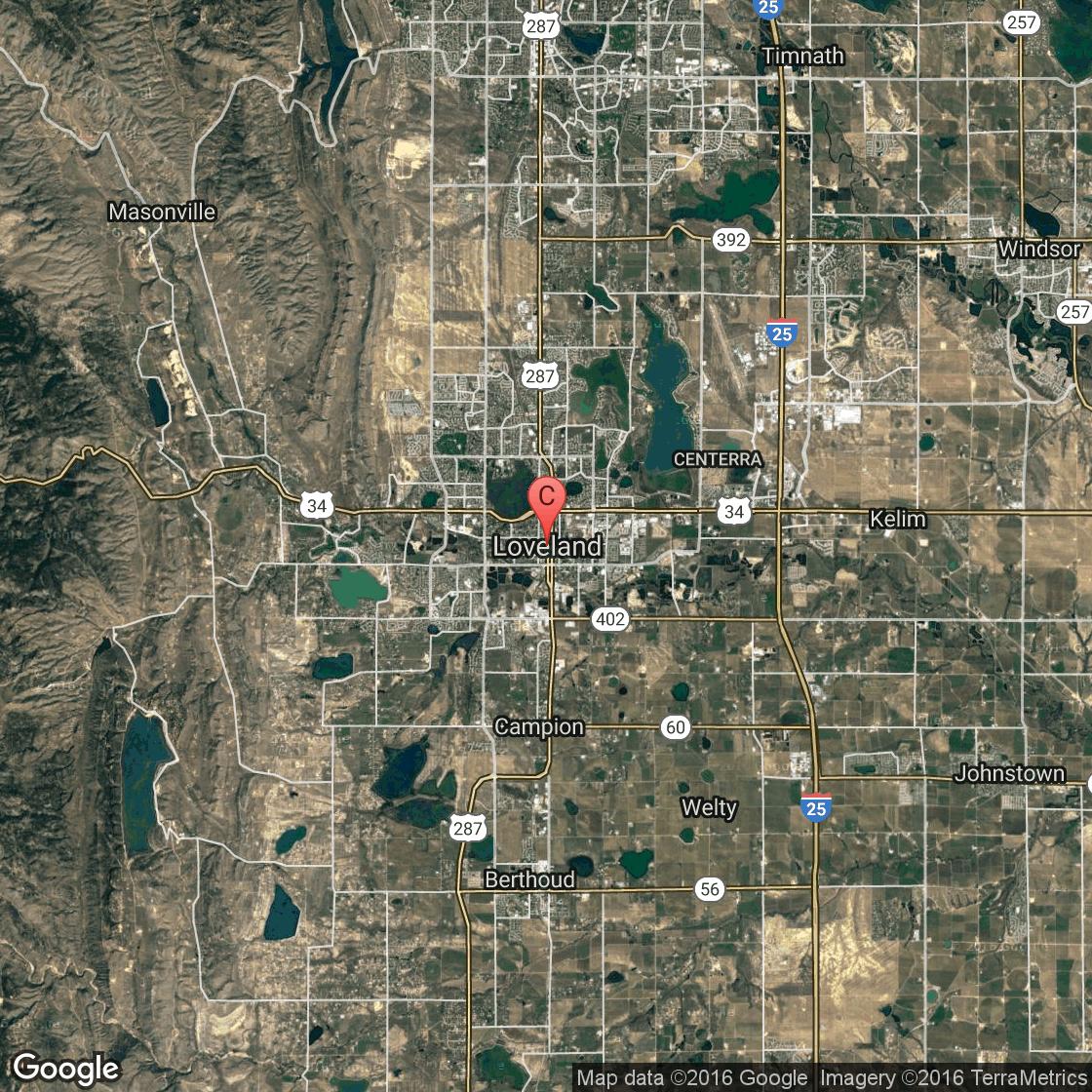 hotels near thunder mountain harley-davidson in loveland, colorado