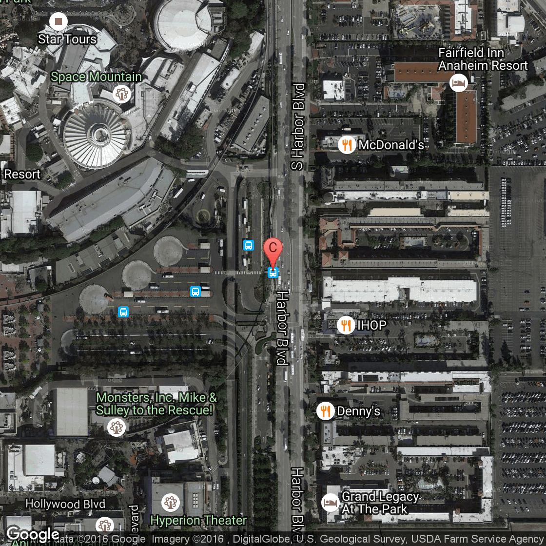 Motels Near Disneyland Park In Califorina