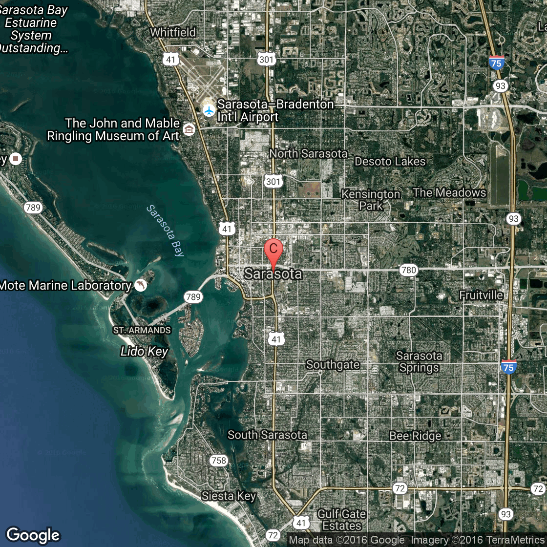 Map Of Florida Panhandle Hotels.Oceanfront Hotels In Sarasota Usa Today