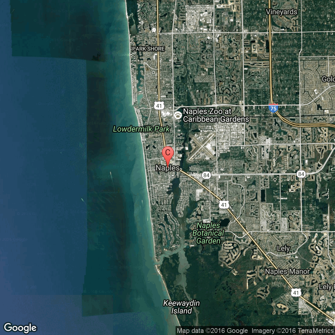 Public Golf Courses In Naples Florida USA Today - Map of usa golf courses