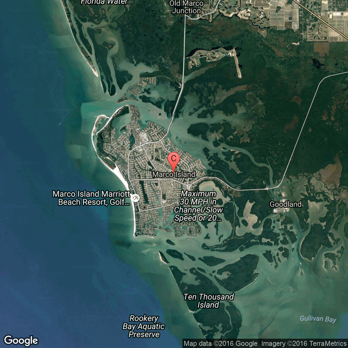 Map Of Marco Island Resorts