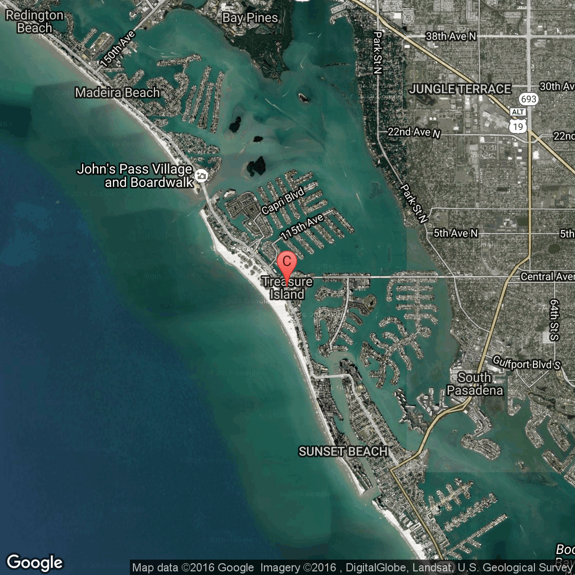 RV Parks Near Treasure Island Florida USA Today - Rv parks usa map