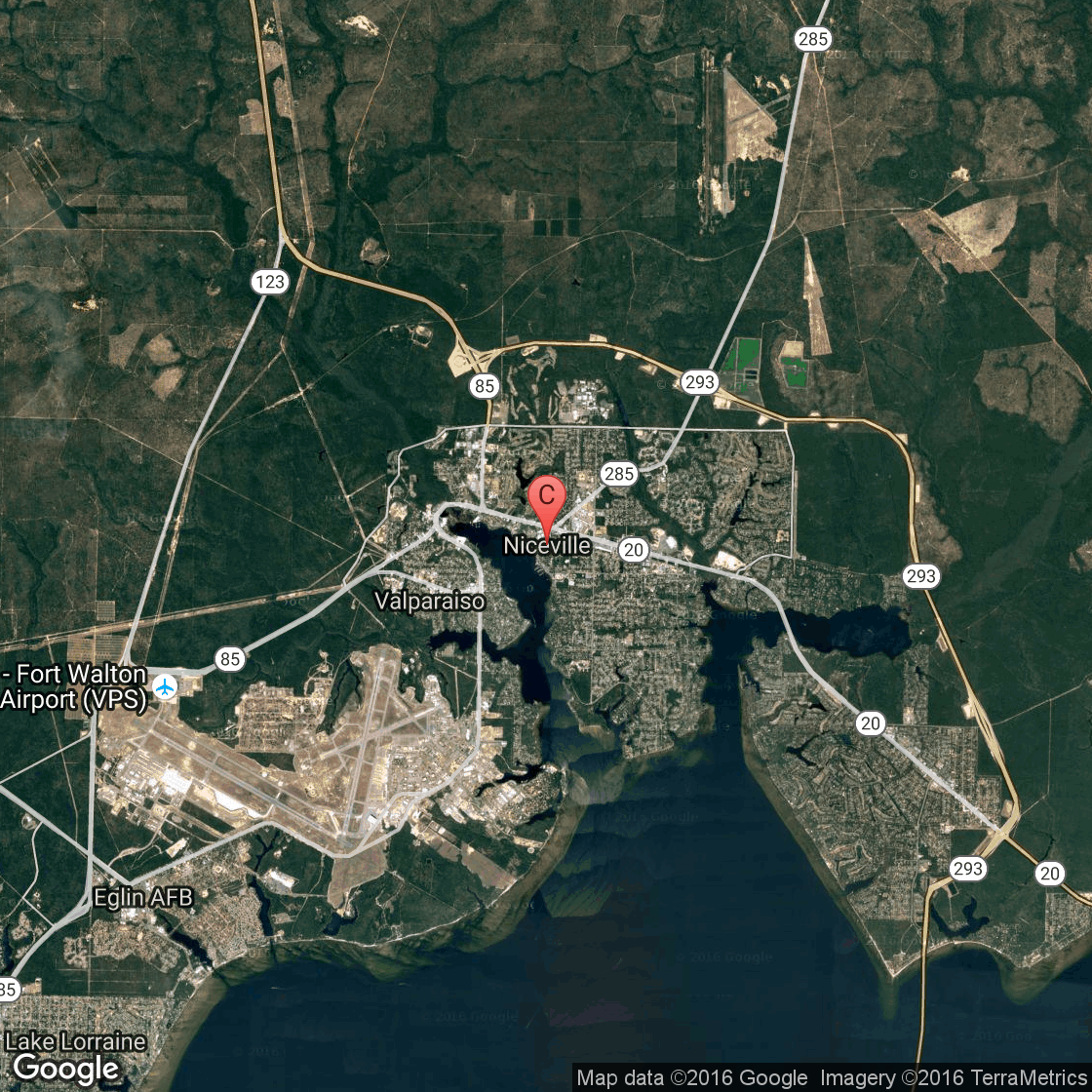 Things To See In Niceville Florida USA Today - Florida map niceville